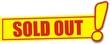 étiquette sold out
