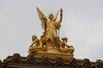 Paris Opera Garnier detail