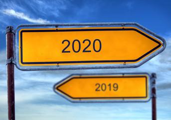 Strassenschild 1 - 2020