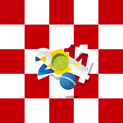 Croatia in Brazil 2014 start the game