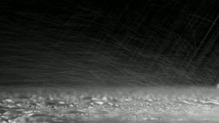 дождь на асфальте