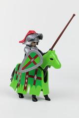 Cavaliers chevaliers vert