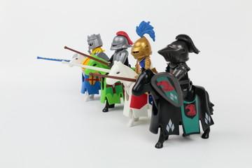 Cavaliers chevaliers avant tournoi2