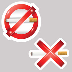 cigarette stickers
