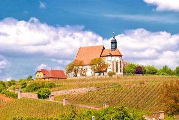 Wallfahrtskirche Maria im Weingarten nahe Volkach am Main