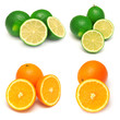 Collection of orange and lime
