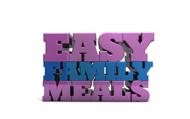 Easy Family Meals Recipes Food Dinner