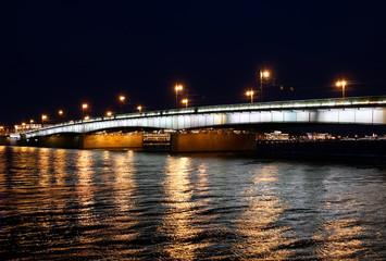 Liteiny Bridge across the Neva River in St. Petersburg