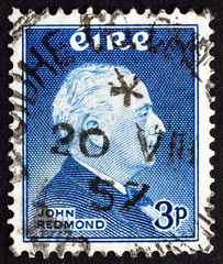 Postage stamp Ireland 1957 John Edward Redmond