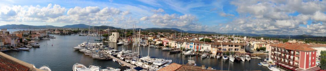 Vue Port Grimaud (Panorama)