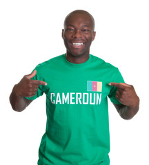 Proud sports fan from Cameroon