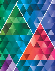 Abstract triangle pattern geometric modern background illustrati