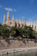 Cathedral in Palma de Mallorca, Spain
