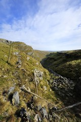 Dry Valley above Malham Cove