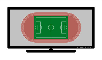 TV Soccer Field