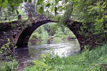 Puente sobre el río Ambroz, Aldeanueva del Camino, España