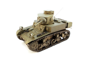 Model M3  light tank top view