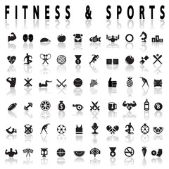 Fitness and sports Icons