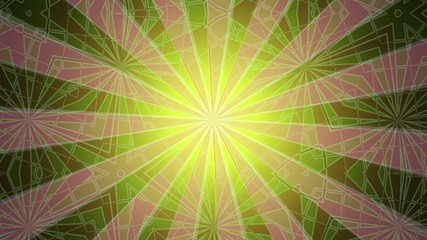 abstract green motion background, loop