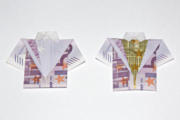 Geld Kleidung