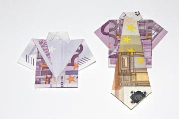 Hemd und Anzug