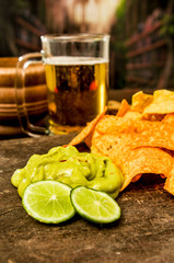 nachos and beer