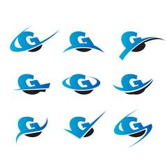 Alphabet G Icons