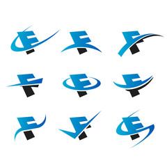 Alphabet F Icons