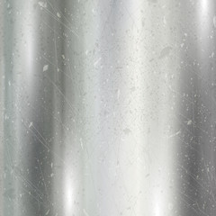 Scratched brushed metal background