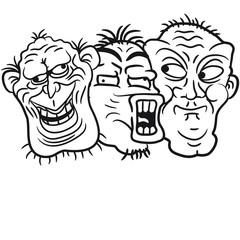 3 Verrückte Freunde Team Crew