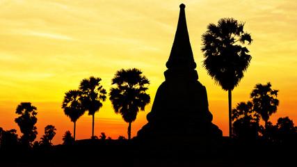 Temple on twilight time