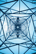 the structure of power transmission tower - 64809720