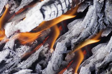 Fire coals