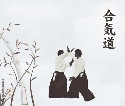 Fototapeta Aikido