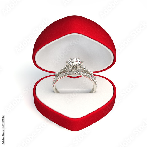 engagement ring - 64810594