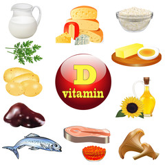 vitamin d and plant and animal products