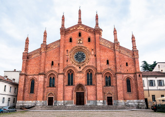 Church of Santa Maria del Carmine in Pavia, Italy