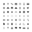 Set of web icons isolated