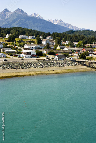 Poster Landschappen Alaska - Enjoy The Beautiful View Of Haines Borough - Travel Destination