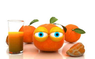 Succo di frutta all'arancia, spremuta, cocktail
