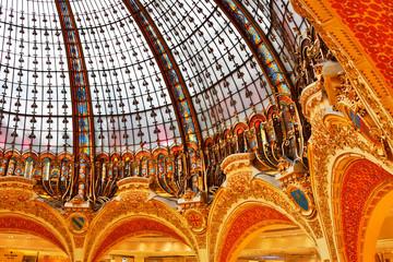 Dach der Galerie Lafayette