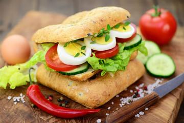 Sandwich, Ei