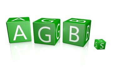 AGB Würfel grün