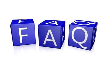 FAQ Würfel blau