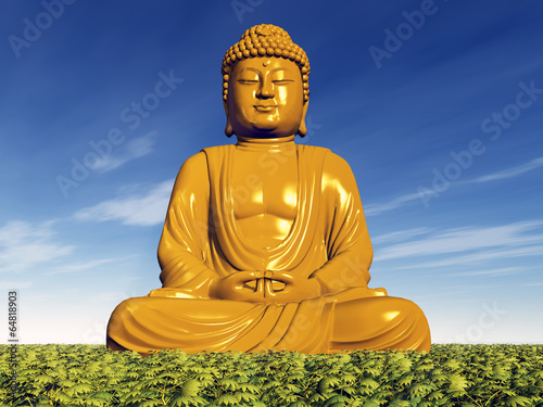 canvas print picture Buddha Statue