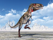 Leinwanddruck Bild - Dinosaur Nanotyrannus