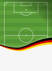 Fußballfeld Deutschland