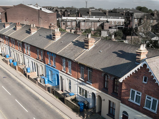 Victorian British terraced housing