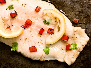 rustic baked fish