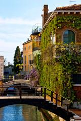 Scorcio sul Rio S. Maurizio, Venezia - Italia